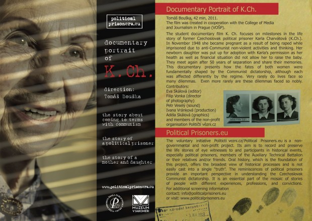 K.Ch. - documentary portrait of a female political prisoner